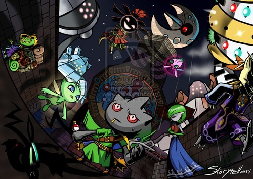 Fan Art,missingno,majoras mask,zelda