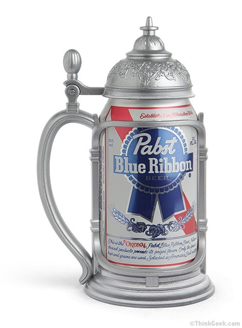 pbr stein beer can funny - 8131415808