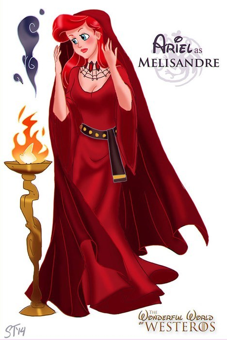 Cartoon - ARTEL MELISANDRE WONDERFUL ORLD WESTEROS THE STH