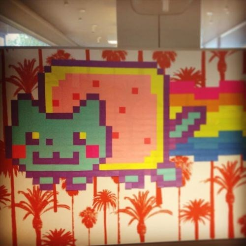 post it work movies Nyan Cat Office sticky notes