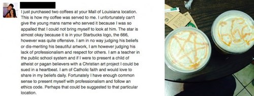 customer service,coffee,Starbucks,failbook