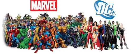 DC marvel superheroes marvel comics - 8131902464