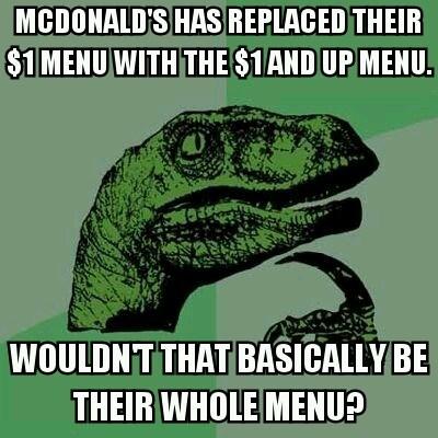 philosoraptor McDonald's - 8131905792