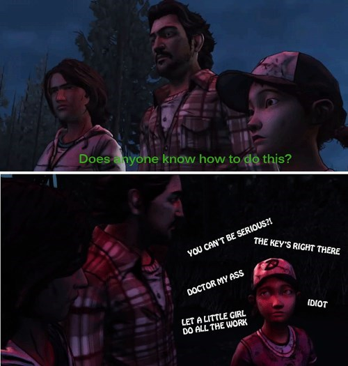 clementine telltale games The Walking Dead - 8131947776