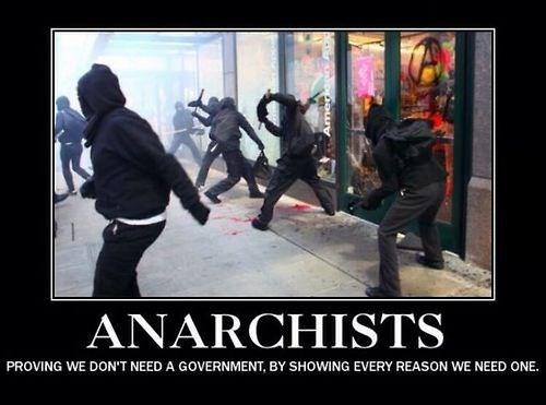 anarchy idiots funny politics - 8132497408