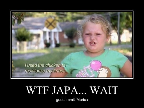 wtf,chicken,honey boo-boo,idiots,funny
