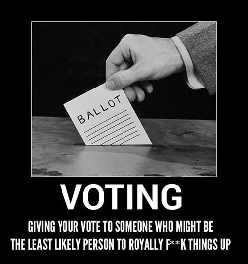 bad idea,vote,funny