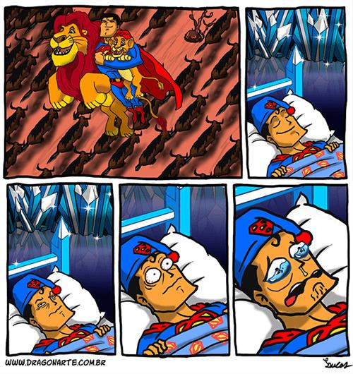 mufasa lion king superman web comics - 8132591872