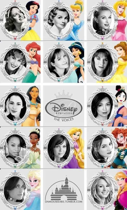 disney disney princesses voice actors - 8132595712