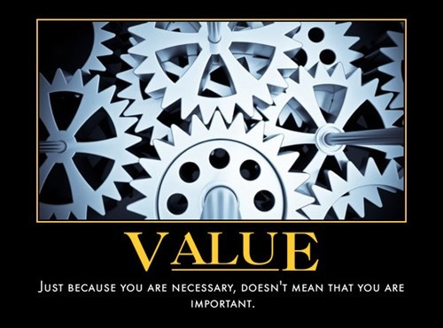 value,depressing,Cogs,funny