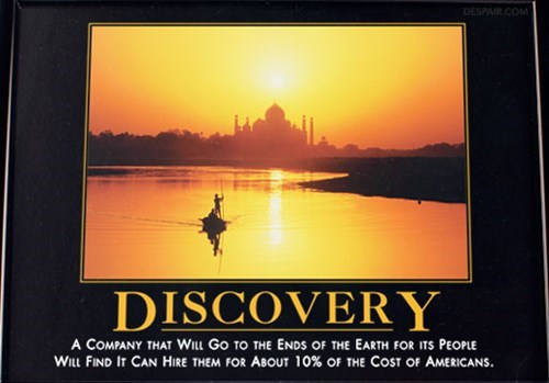 outsourcing discovery company funny - 8132626432