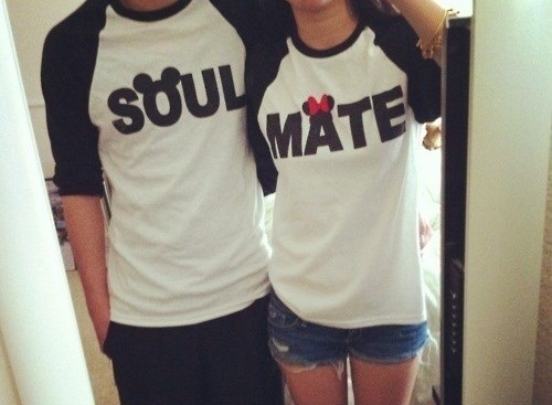 minnie mouse,disney,poorly dressed,mickey mouse,soulmates,t shirts,couple