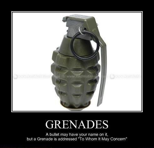 bullets funny grenades - 8132647168