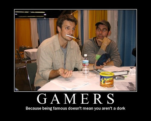 nathan fillion gamers funny