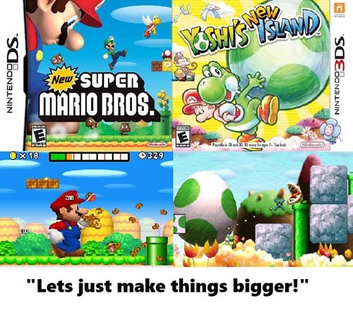 sequels,new super mario bros,yoshis-island,nintendo