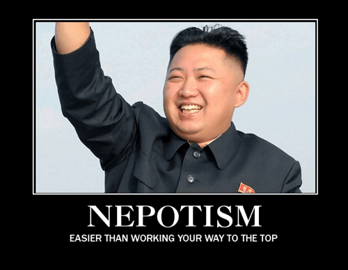 kim jong-un,nepotism,wtf,funny