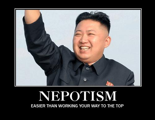 kim jong-un nepotism wtf funny - 8132706816