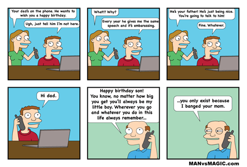 dads,birthdays,reminders,web comics