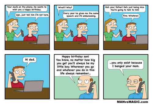 dads birthdays reminders web comics - 8132784384