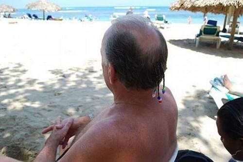 hair beads poorly dressed bald beach braid - 8132872960