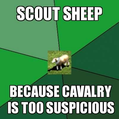 age of empires scout sheep sheep - 8132894720
