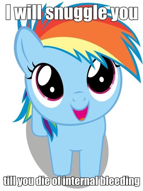 snuggles squee rainbow dash - 8132933888