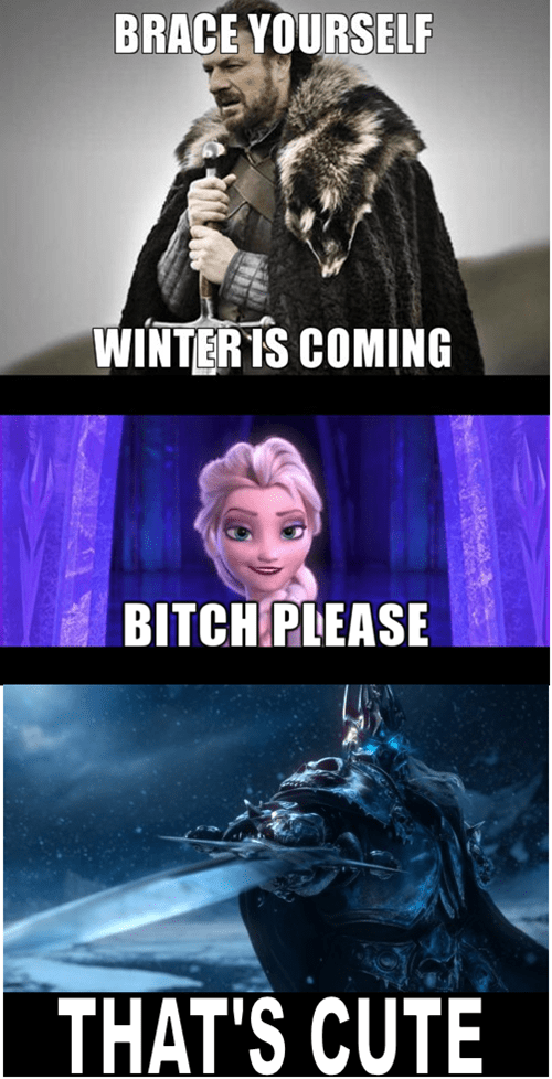 frozen,Game of Thrones,lich king,world of warcraft