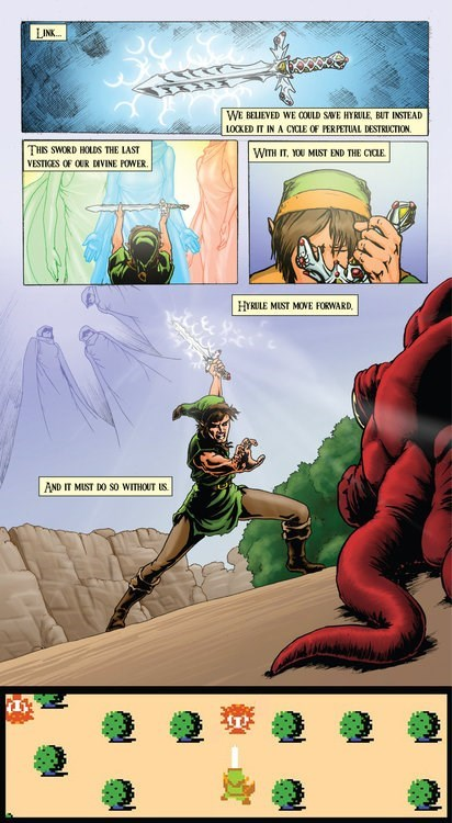 ink graphics zelda web comics - 8133835264