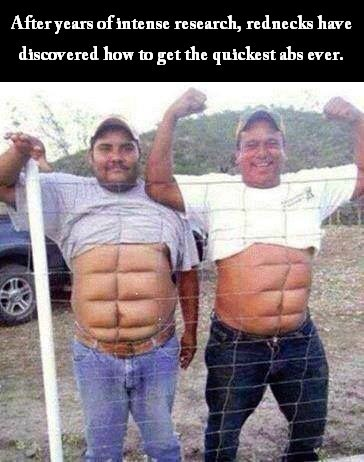 workout,abs,rednecks