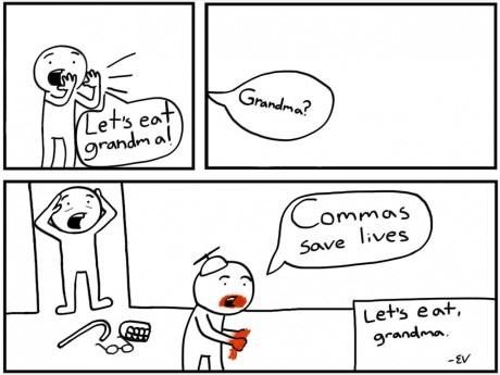 grammar,cannibalism,classic,web comics