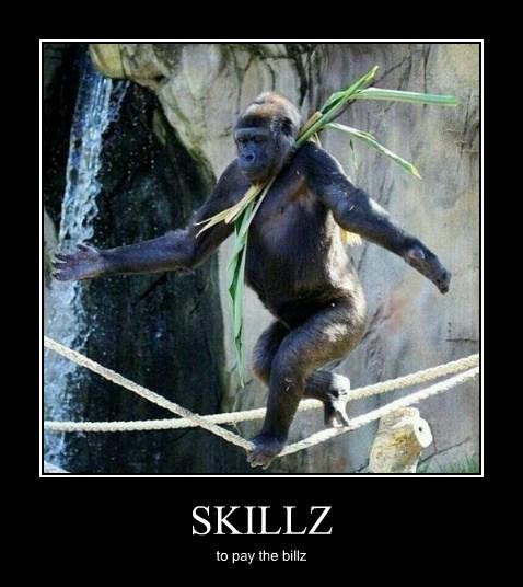 skills,apes,funny
