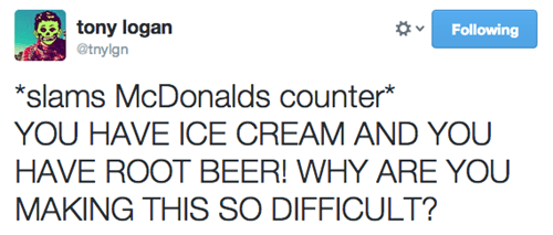 twitter,McDonald's,food