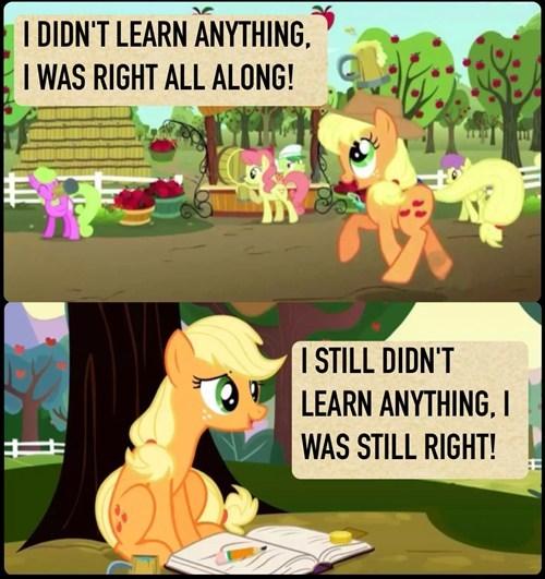 applejack lessons right - 8133994240