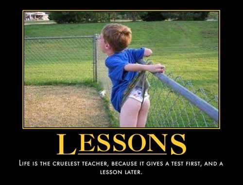lesson bad idea kids funny - 8134043136