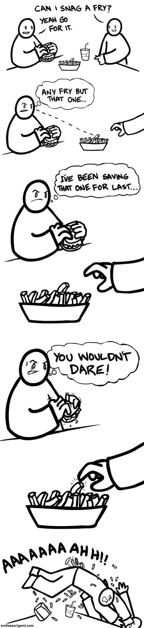 food,fries,sharing,web comics