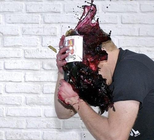bad idea headache funny wine - 8134186496