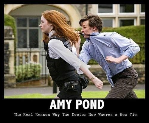 amy pond,11th Doctor,bowtie