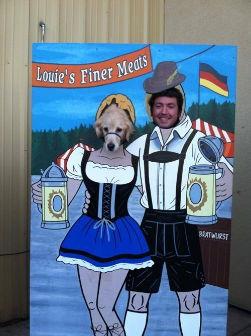 beer dogs Germany funny - 8134263808