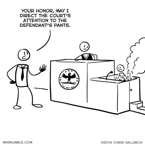 liar pants court web comics - 8134278912