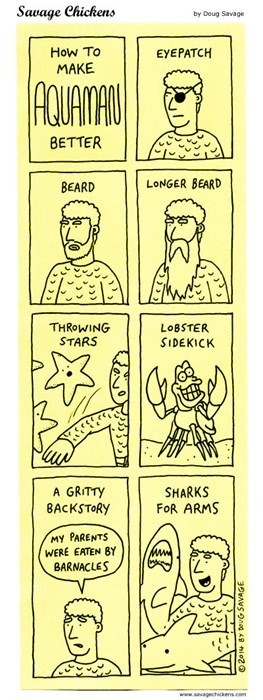 aquaman,superheroes,beards,web comics
