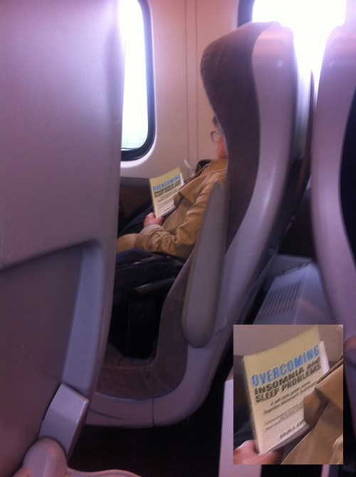 irony,train,nap,sleeping