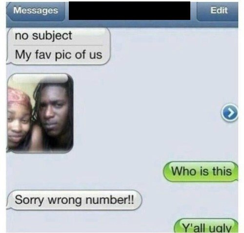 couples texting wrong number - 8134371328