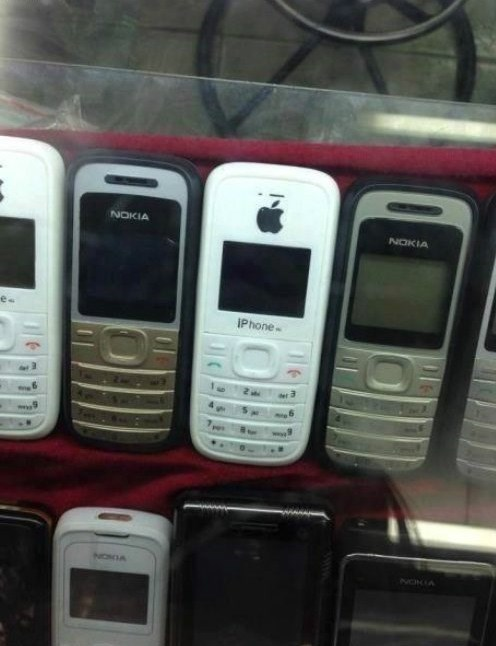 iphone,knockoff
