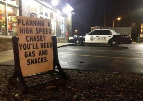 cops,irony,snacks