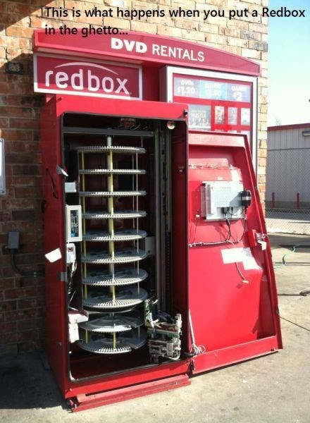 stealing redbox - 8134389248
