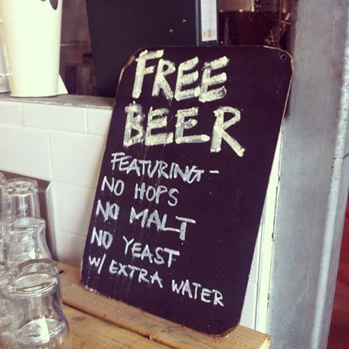 beer free funny hops sign after 12 g rated - 8134483968
