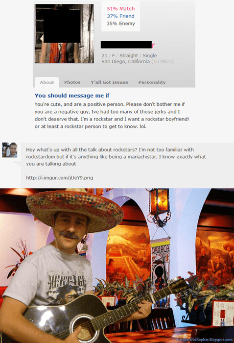 funny,mariachi,online dating