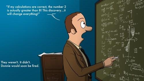 comics math idiots funny - 8134936320