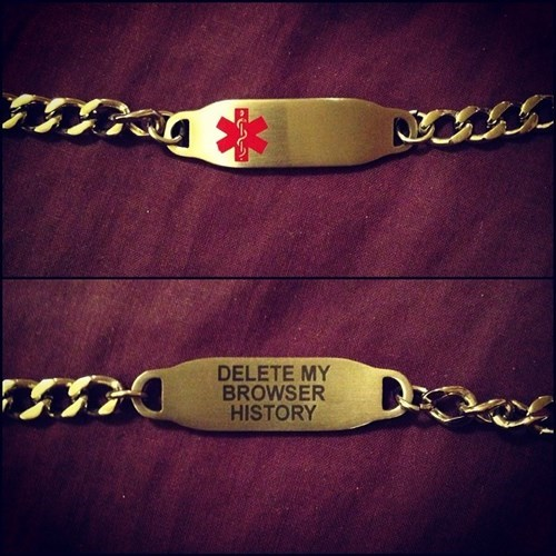 poorly dressed browser history bracelets g rated - 8135166720