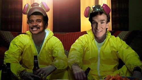 bill nye,breaking bad,Neil deGrasse Tyson,funny